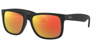 Ray-Ban RB4165 622/6Q BROWN MIRROR ORANGERUBBER BLACK