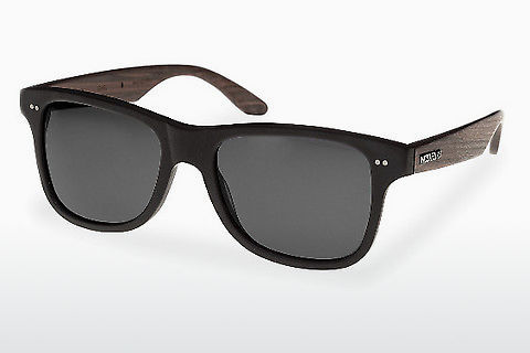 Occhiali da vista Wood Fellas Lehel (10757 rosewood/black/grey)