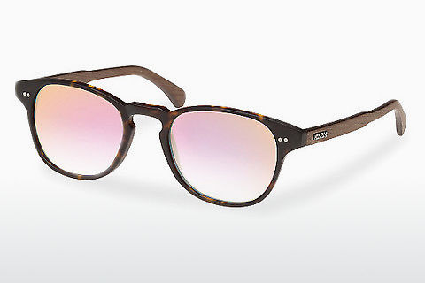 Occhiali da vista Wood Fellas Haidhausen (10758 walnut/havana/rose)