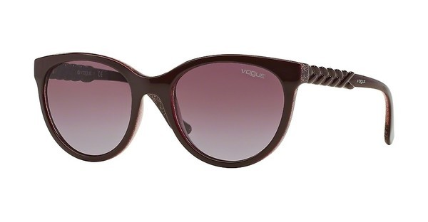 Vogue   VO2915S 226214 PINK GRADIENT BROWNTOP BORDEAUX/GLITTER PINK